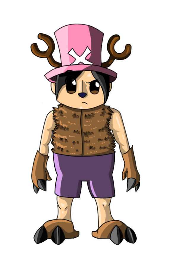 Chopper in Human Form by RainbowOnHigh on DeviantArt