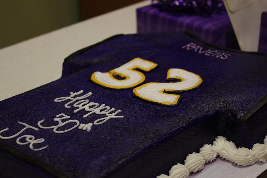 Ravens Jersey And Cake Ideas And Designs