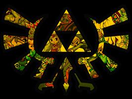 Wind Waker Triforce by RainbowOnHigh