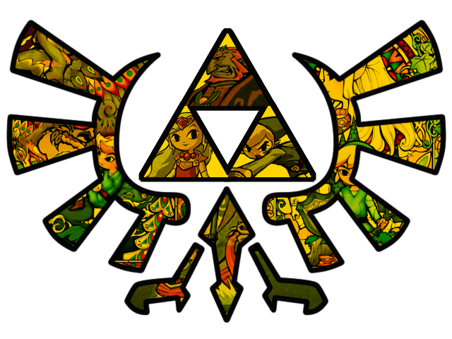 Wind Waker Triforce by RainbowOnHigh