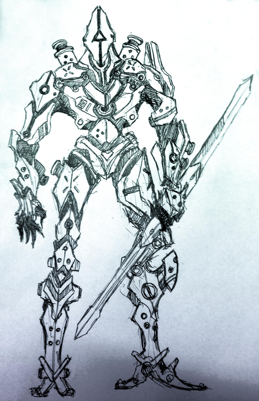 Sketch: 01 - Demigod by HostileSynth