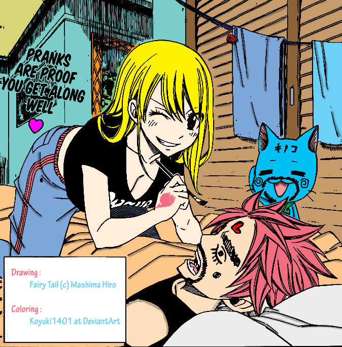 Natsu and lucy fanfiction and jellal fanfiction ii