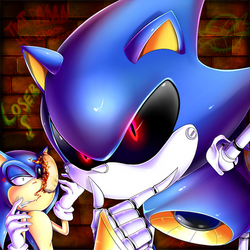A Tale Of Two Sonics by Katsumi-Kin