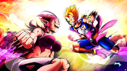 Heated Clash by Katsumi-Kin