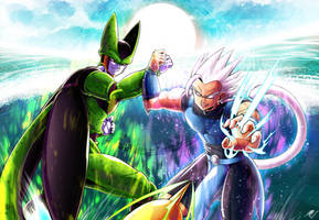 Cell VS UI Shallot REMATCH! by Katsumi-Kin