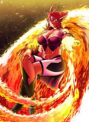 Burning Ifrit by Katsumi-Kin