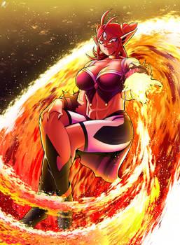Burning Ifrit