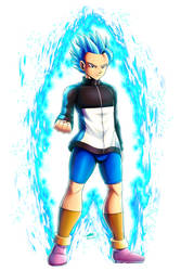 Super Saiyan Blue Cabba