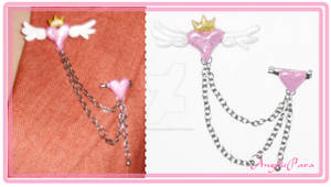 Crown-Heart-Wing-Chain Acc.