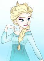 Elsa by Ryokatsu