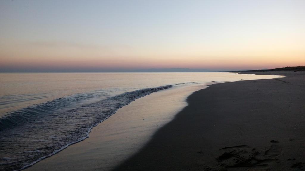Sunset On Beach by lucamanni88