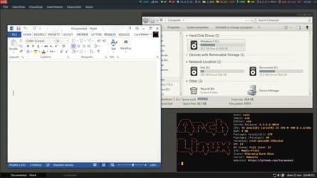 Running Windows 7 in Arch Linux