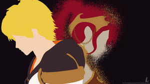 RWBY | Lost Arkos (Minimalist Wallpaper) by Linzyia