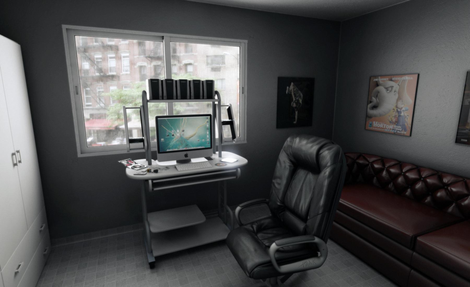 Room 3D update by djreko on DeviantArt