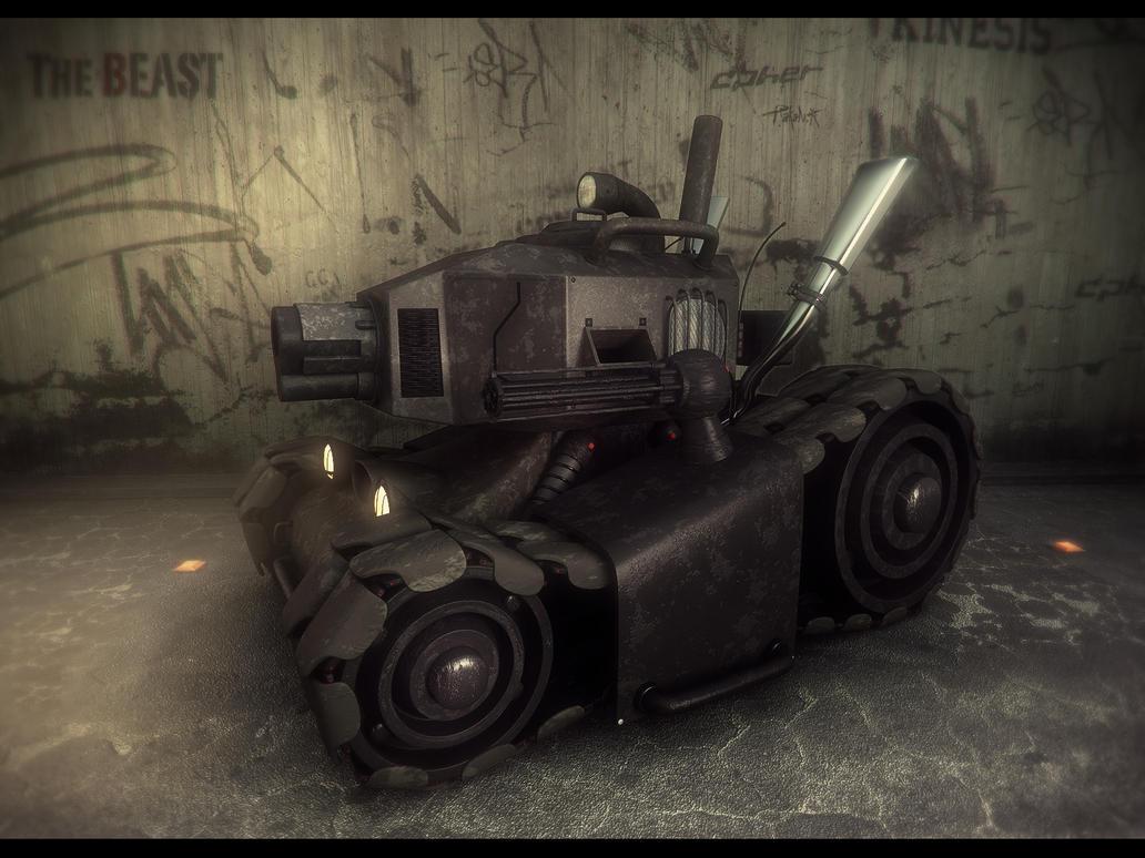 The Beast Render2 by djreko