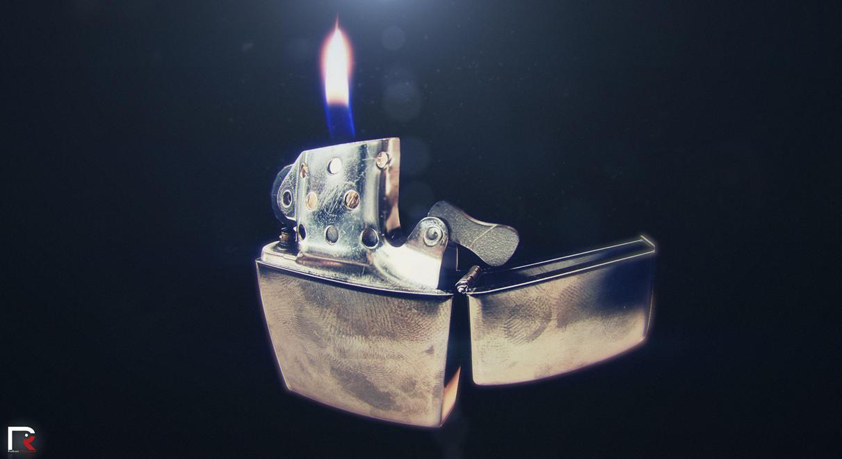 Zippo Lighter By Djreko