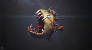 Crazy Piranha by djreko