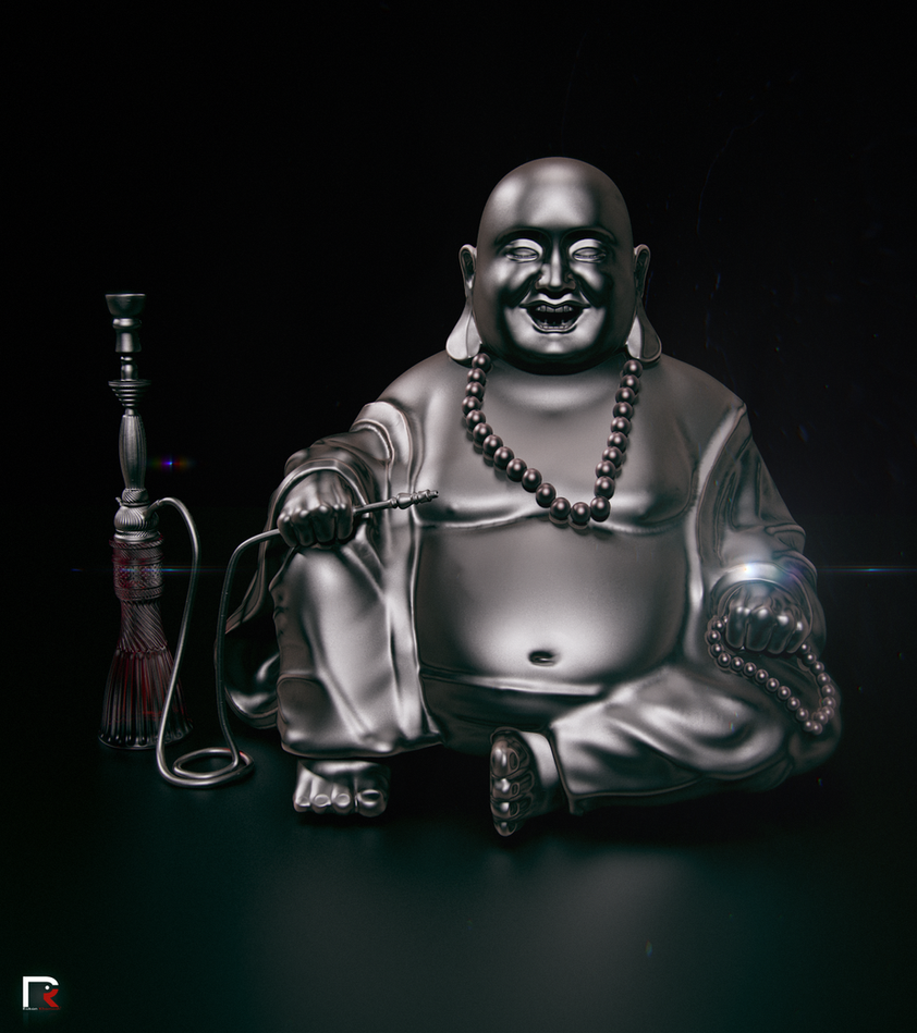 Laughing Buddha by djreko on DeviantArt