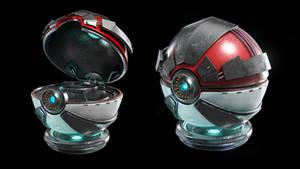 Pokemon ball by djreko