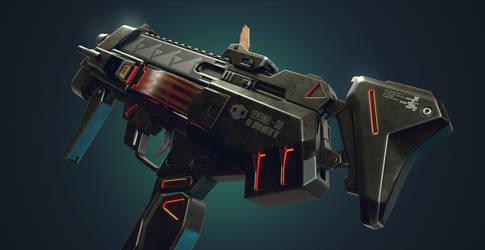Sombra's Uzi ( overwatch )