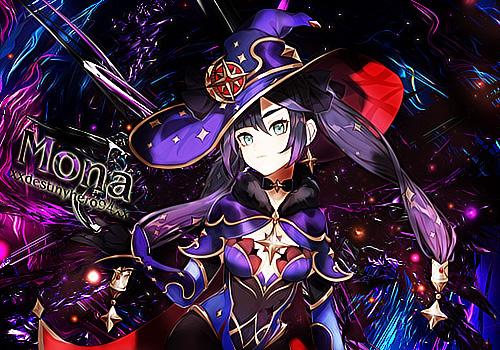 Genshin Impact - Mona