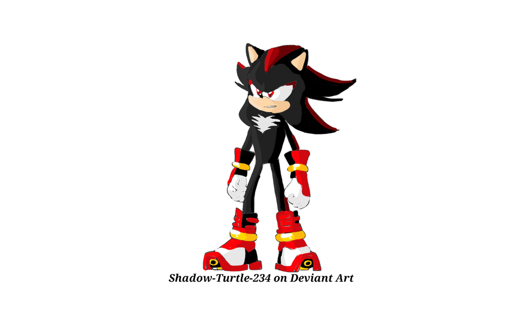 Shadow the hedgehog - Sonic Boom styled by Shadow-Turtle-234