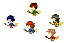 Harry Potter Quidditch Icons by IgneousRocks