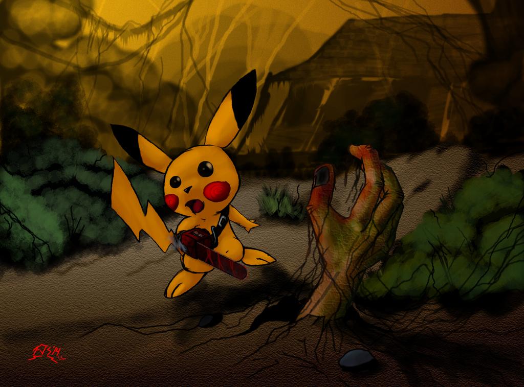 evil pikachu wallpaper - photo #44