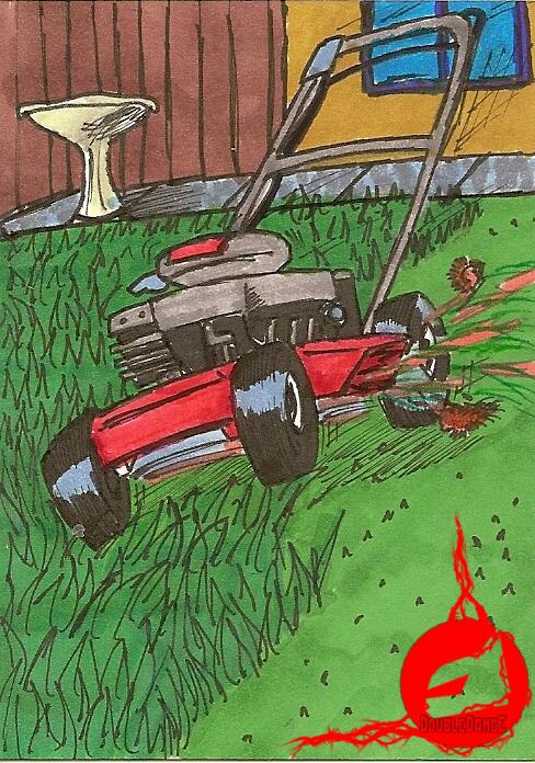 The Lawnmower Man by DoubleDandE