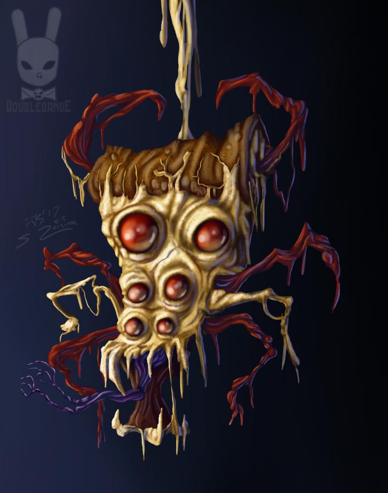 Pizza Spider by DoubleDandE