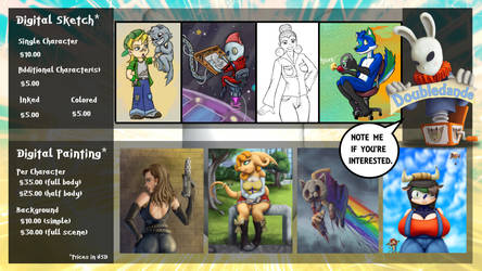 Commissions closed until further notice...