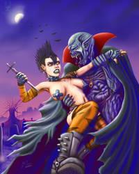 Goth vs Dracula by DoubleDandE