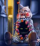 Creepy the Clown Doll by DoubleDandE