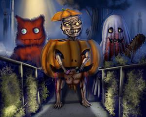 Zombie Treat n Tricking