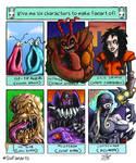 Six Fan Art Challenge by DoubleDandE