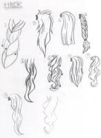 Hair Reference by EmmasMangaTuts