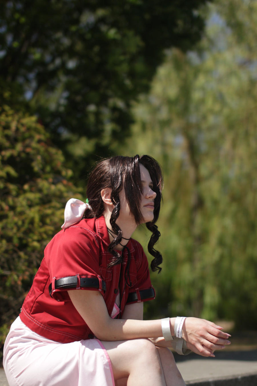 What a nice day - Aerith by FuriaeTheGoddess