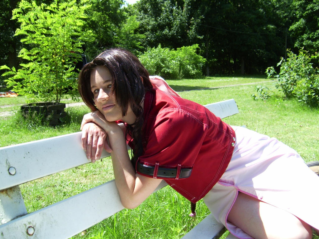 Just relax - Aerith by FuriaeTheGoddess
