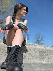 Break - Lara Croft by FuriaeTheGoddess