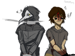 SCP 049 and !hum! SCP 173 (aaa)