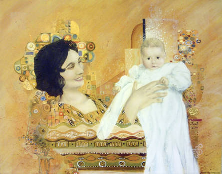 Homage to Klimt