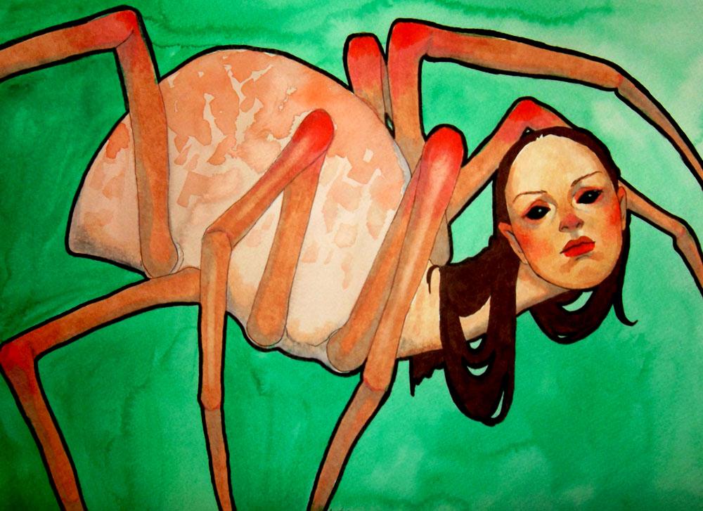 spiderlady by charlottevevers