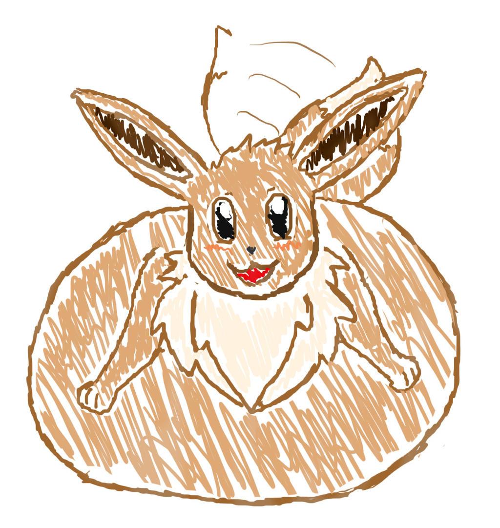 (Quick Sketch) Eevee By Ticki-Ticki On DeviantArt