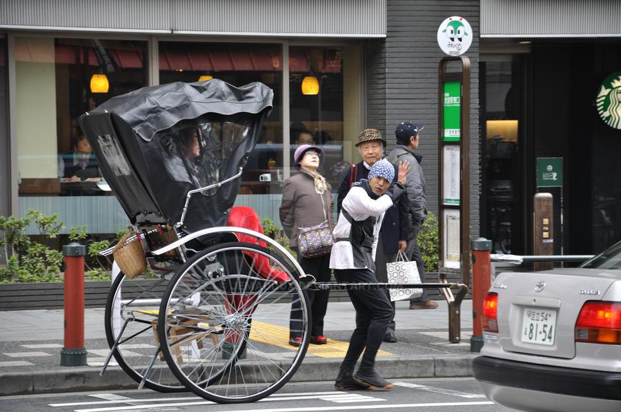 Traditional Japanese Transport by JEMaddux on DeviantArt