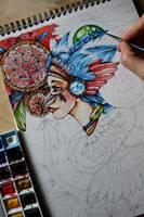 Dreamcatcher - in progress