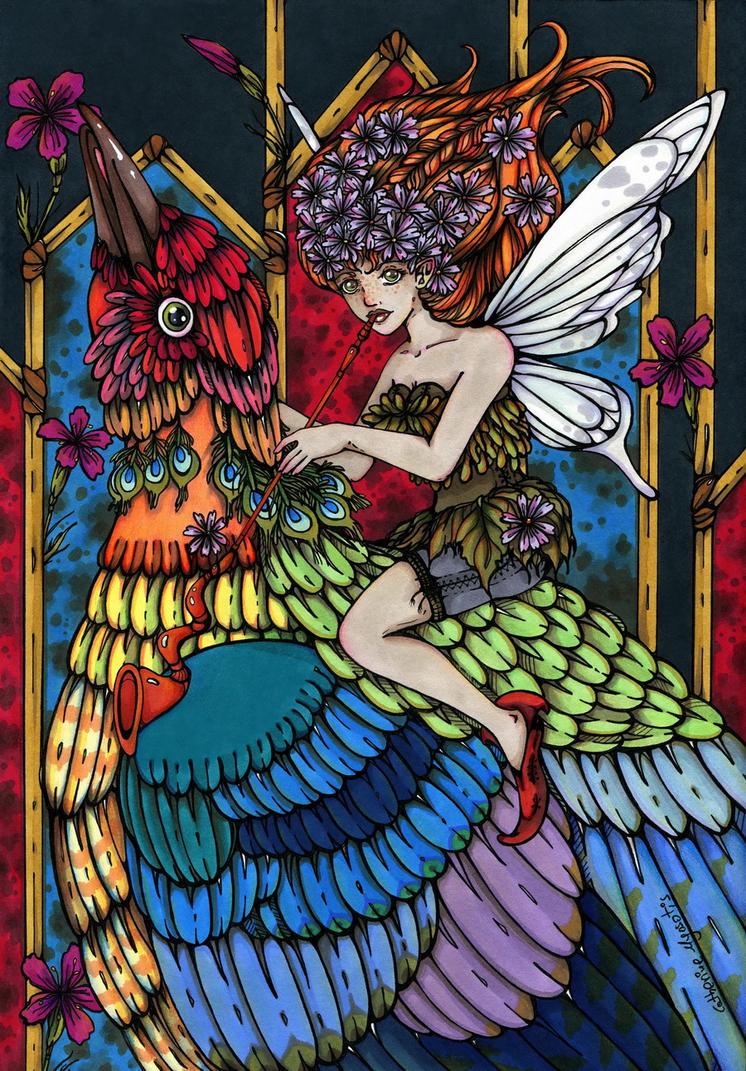 Sunbird by CathM