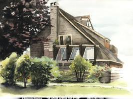 House Across the Street by jcevil
