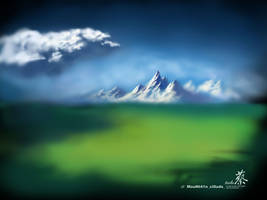 doodle of Moutain_Clouds by jcevil