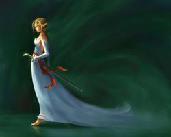 Elvan Sword Saint by jcevil