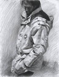 pencil sketching - magazine 1 by jcevil